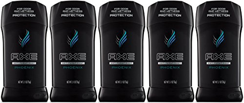 Axe Anti-Perspirant Deodorant Stick, Phoenix, 2.7 Oz (Pack of 5)