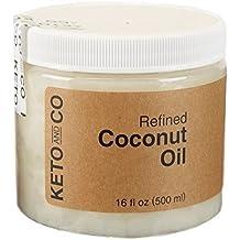 Keto Coconut Oil, Refined, 16 oz.