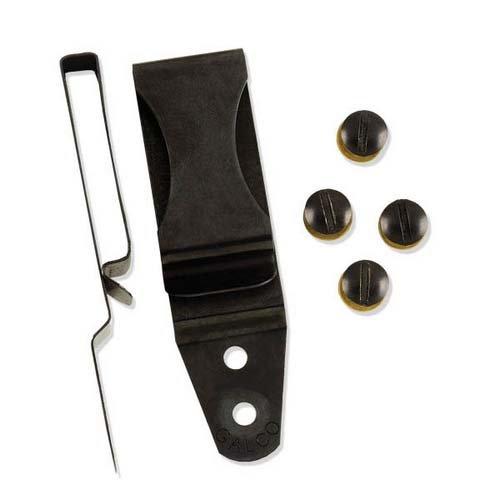 Galco CLP175 1 3/4'' Ambidextrous Metal Clip, Black