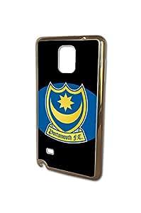 Football Club logo Funda for Samsung Galaxy Note 4 Funda Case Portsmouth FC Team Logo for Fans, Cool Anti-drop Funda Case&Cover for Samsung Galaxy Note 4