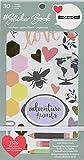 American Crafts 1canoe2 Designer #Sticker Book