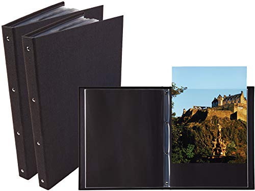 ProFolio by Itoya, Professional Art and Photography Presentation Book Portfolio with 24 Pockets - (A4) 8.3 x 11.8 Inches