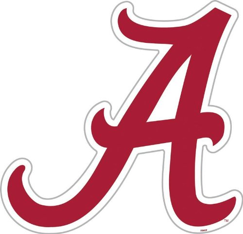 NCAA Alabama Crimson Tide 12-Inch (Alabama Crimson)