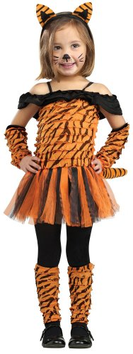 Girl's Tiger Halloween Costume - Tigress