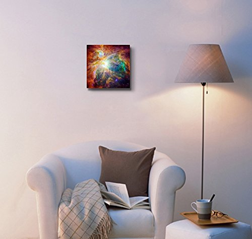 The Cosmic Cloud Orion Nebula 1 500 Light Years Away from Earth Beautiful Universe Outer Space Wall Decor ation