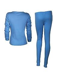 Godsen Women's Crewneck Thermal Underwear Tops & Bottom