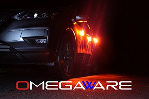 LED Road Flare   Emergency Roadside Safety Disc Marine Flashing Light Beacon for Car Truck Boat with Storage Bag and Batteries   New 2018 Kit (Pack of 3) by OMEGAWARE (Image #4)