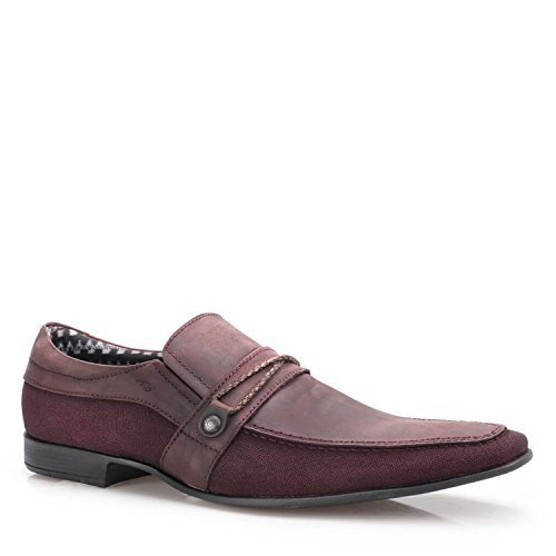 Shop Brunello's Nubuck Beet Comfort Casual Dress Shoes- Magnum 007 Made in Brazil