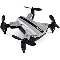 Kinrui JJRC H54W Mini Foldable Pocket Drone Mini FPV Quadcopter Selfie 480P WiFi Camera Hover