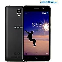 Unlocked Cell Phones, DOOGEE X10 Smartphone Unlocked Android 6.0 - 5.0'' IPS Display - 3360mAh Battery - 8GB ROM - 5MP Camera - 3G Unlocked Phones - Black
