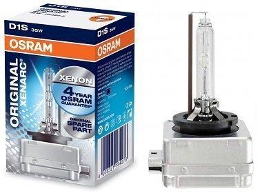 - OSRAM XENARC D1S HID/XENON Headlight bulb (66144) - Pack of 1