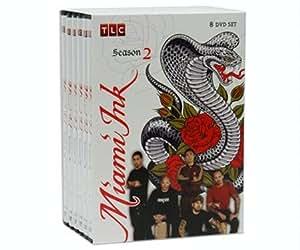 Miami Ink Complete Season 2 : Uncut 8 Disc Set : 30 Episodes