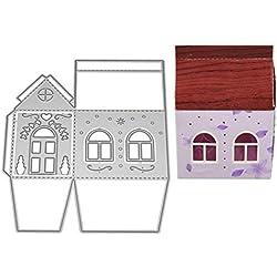 HIKO23 Die Cuts, Metal Cutting Dies Stencils DIY Scrapbooking Embossing Photo Album Paper Card Gift Making Craft