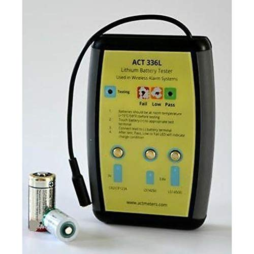 - ACT METERS 336L 3V/ 3.6V Lithium Battery Tester