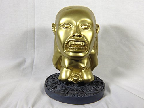 Raiders Of The Lost Ark Props (Indy Aztec Idol Regular version with Jungle Stand)