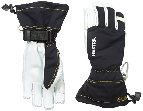 Hestra Army Leather GTX Gloves, Black, 7