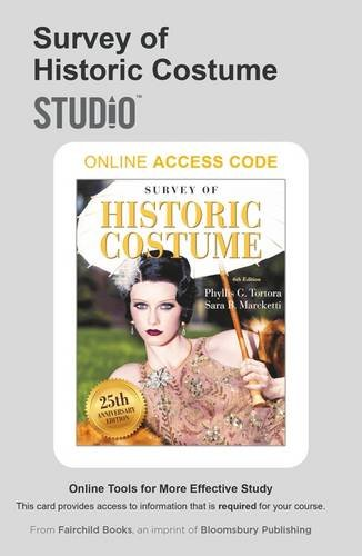 Costume Design Worksheet (Survey of Historic Costume: Studio Access Card)