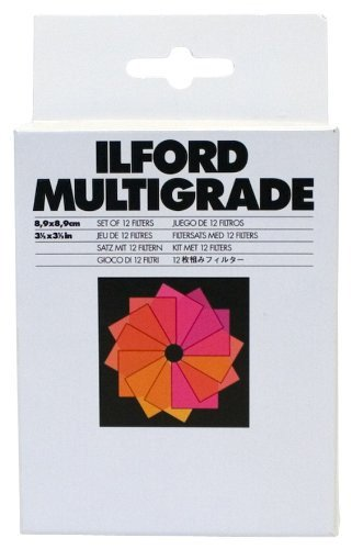 ILFORD MG Filters 3.5 x 3.5 Inches (1762628) by Ilford