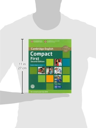 Compact First Students Book with Answers with CD-ROM Second Edition: Amazon.es: May,Peter: Libros en idiomas extranjeros
