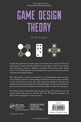 Game Design Theory Amazoncouk Keith Burgun Books - Game design theory