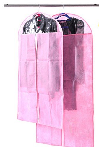 Clothes bag£ºThickening garment bags---a group of 10, a total of $24.99 (Pink)