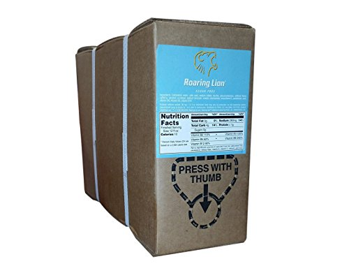 Roaring Lion Sugar Free Bag-in-a-Box (1-Gallon Unit) (Roaring Lion Energy Drink compare prices)