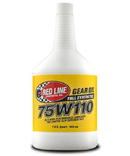 redline gear oil 75w140 - 5
