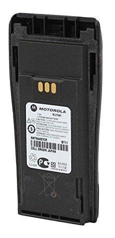 Motorola Original OEM NNTN4497 NNTN4497CR Li ion 7.4, 2250mAh High Capacity Battery Compatible with CP150, CP200, CP200XLS, CP200D, CP250, PR400