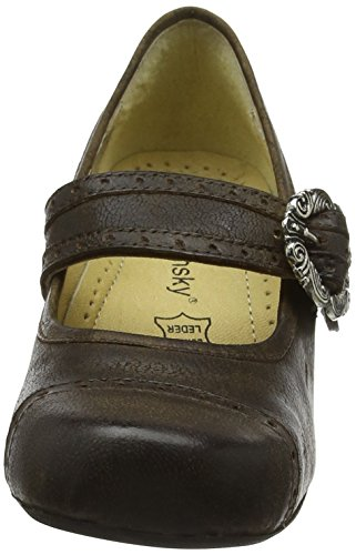 High Quality Brown SPIETH & Wensky Women's Costume Shoes Leather Dirndl shoes Rustic 5snbzOoX7U
