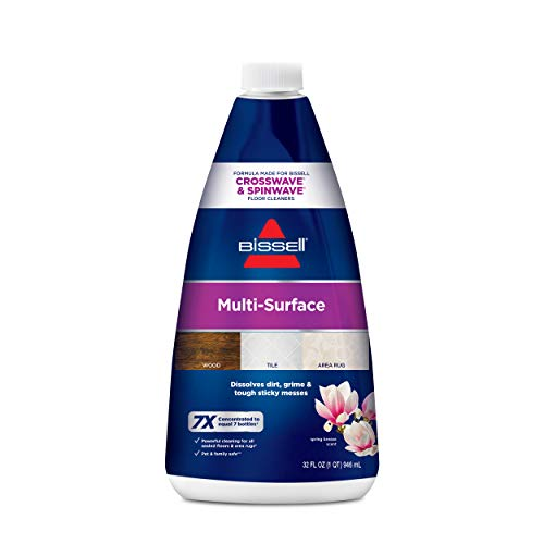 Bissell 1789 CrossWave & SpinWave Multi-Surface Cleaning Formula, 32 oz (Foundation Pet Formula)