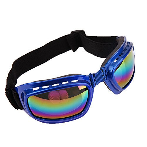 Cool Large Pet Dog Sunglasses Pet Eye Wear Protection Water Proof Pet Supplies Goggle Blue - Sunglasses Chicken