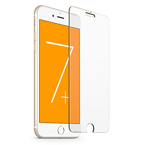 iPhone 7 Plus screen protector 2 Pack, UPPERCASE DuraGlass Premium Tempered Glass...