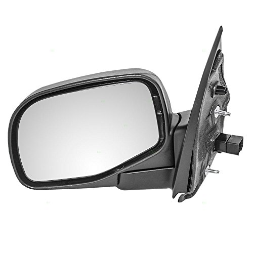(Drivers Power Side View Mirror with Puddle Lamp Textured Replacement for Ford Mercury SUV 1L2Z17683BAA)