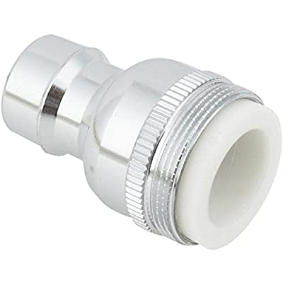 Do it Dual Thread Dishwasher Faucet Aerator Adapter, Low Lead