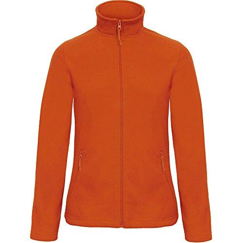 Pumpkin Collection Full B Ladies amp;c Microfleece Zip Orange 501 Id Jacket qxnAzfU7