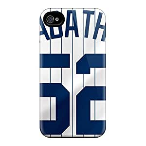 New ERz1541nDKB New York Yankees PC For SamSung Galaxy S4 Case Cover