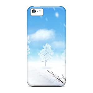 [bjx16014ekBK]premium Phone Cases For Iphone 5c/ Color For Winter Cases Covers