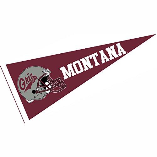 Montana Helmet - College Flags and Banners Co. Montana Griz Football Helmet Pennant