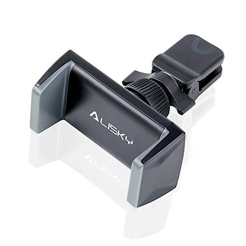 Car Phone Mount, Alisky Air Vent Cell Phone Holder 360 Degree Rotation for iPhone X 8 7 Plus Samsung Galaxy S9 S8 S7 Note 8, Car Vent GPS Holder Cradle for iOS Android Smartphones, GPS by Alisky