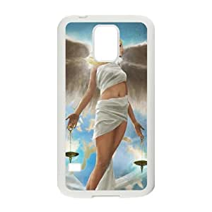 angel 5 Samsung Galaxy S5 Cell Phone Case White yyfD-385566