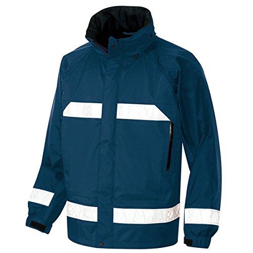 アイトス AZ-56303 全天候型リフレクタージャケット M 008:ネイビー レインウエア