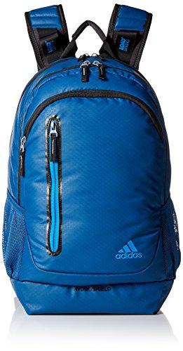 adidas Breakaway Backpack, Tech Steel/Bright Blue/Black, One Size