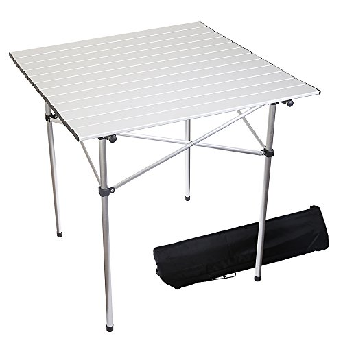Forbidden Road Aluminum Folding Camping Table Lightweight Portable Picnic  Table With Carry Bag Stable Durable Easy
