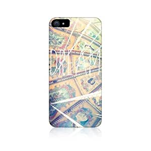Dream Positive Vibe Design Snap-on Back Case Cover For Apple iPhone 5