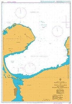 Ba gráfico 2194: punta macolla a punta gallinas, Golfo de ...