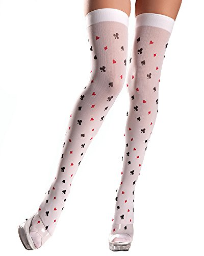be-wicked-womens-playing-card-pattern-thigh-highs-white-one-size