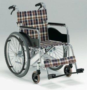 【車椅子/自走用】 アルミ製スタンダードタイプ/AR-211B (低床タイプ) 背折れ式ブレーキ付 <座幅38㎝/40㎝/42㎝> (シート幅40㎝, H-51) B00JXCF41G シート幅40㎝|H-51 H51 シート幅40㎝