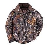 Russell Outdoors Men's Drystalker Hooded Jacket, Mossy Oak Infinity, Medium