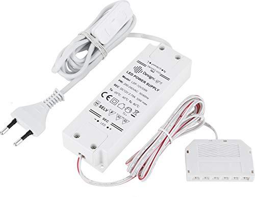 5x 6-fach Mini LED VerteilerMini LED Stecker auf 6 Mini LED BuchsenSchwarz