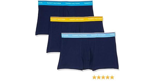 Tommy Hilfiger Hombre Pack de 3 Troncos Essentials Premium, Azul, S: Amazon.es: Ropa y accesorios